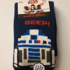 Star Wars R2-D2 Boys Socks Sox
